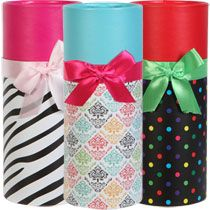 Bulk Decorative Round Cardboard Boxes With Lids At Dollartree Com