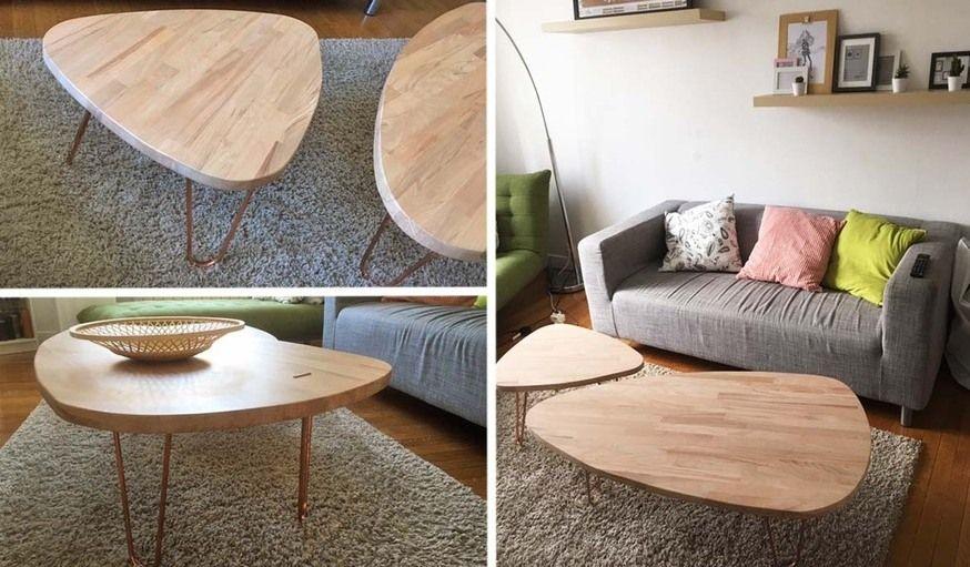 Tuto : tables basses gigognes et scandinaves Tables basses