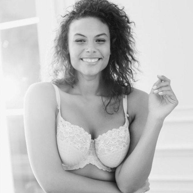 Marquita Pring - Model, Businessfrau und ein tolles Vorbild - und genau deshalb das neue Gesicht einer Unterwäschekampagne. Mehr Bilder gibt's bei gofeminin.de!