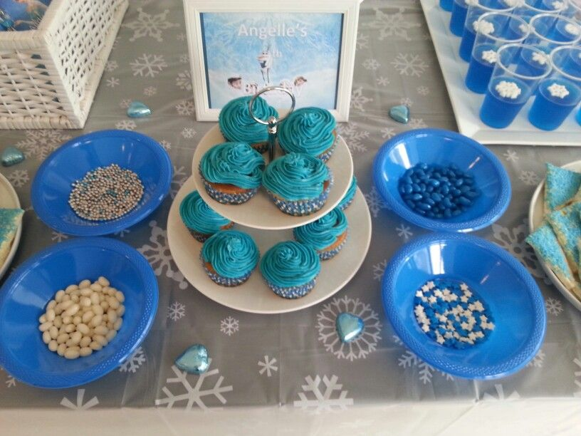 Decorate your own frozen cupcake cupcake decorating