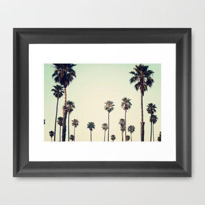California  Framed Art Print by Bree Madden  - $34.00