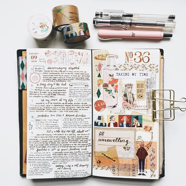 Week 36 in my MTN  #midoritravelersnotebook #travelersnotebook #travelersnote #travelerscompany #diary #journal #artjournal #creativejournal #planner #weeklyplanner #loveforanalogue #maskingtape #washitape #memorykeeping #stationeryaddict #stickers #ephemera #paperlove #chamilgarden #handwriting #黑夢蝶 #女子亥 #classiky #zigcocoiro #lamyvista