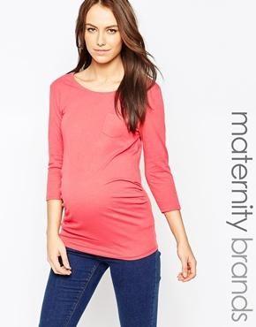 New Look Maternity – Oberteil mit Tasche