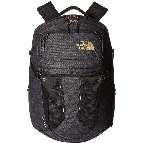 950f3e704 The North Face Women's Recon (TNF Black/24k Gold) Backpack Bags ($99 ...