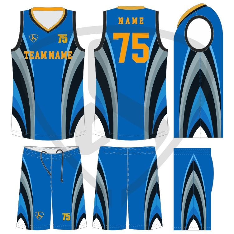 Latest Sublimation Reversible Basketball Jersey Customized Design Basketball Jerseys Uniforms In 2020 Basketball Uniforms Compression Clothing Cycling Outfit