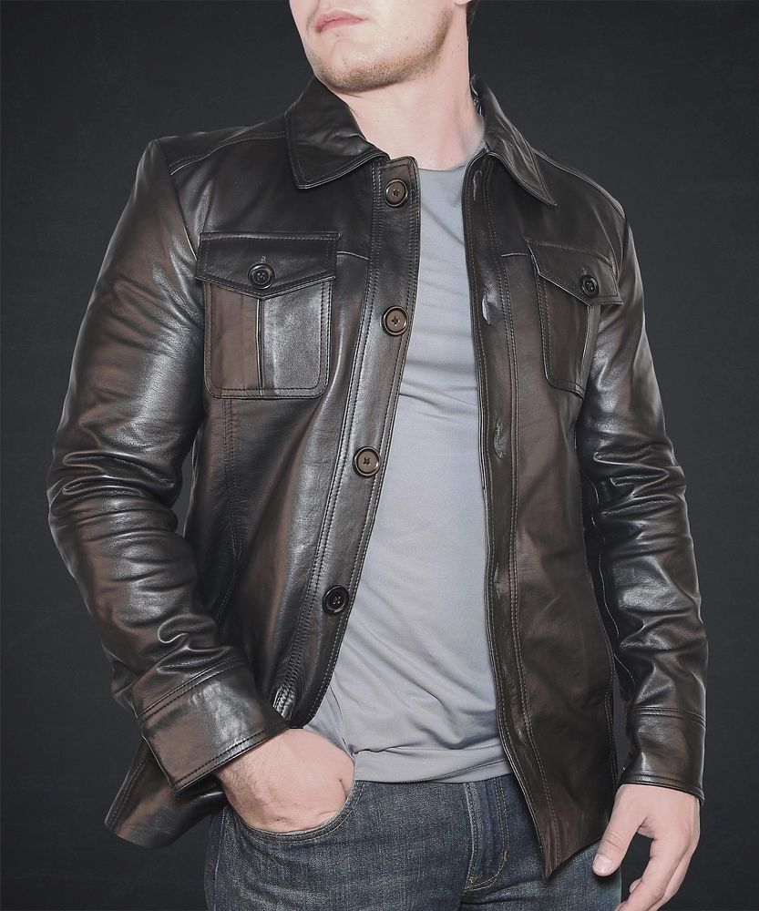High fashion leather jackets men 99