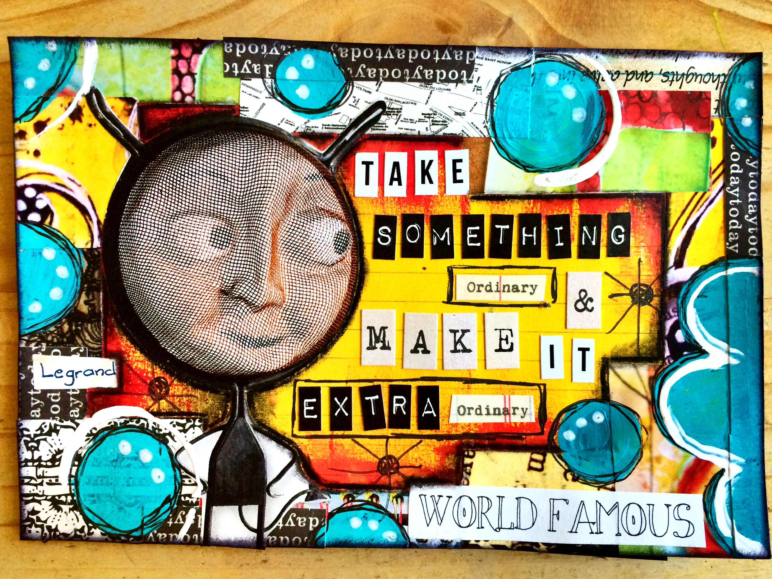 Icad day 56 with images artist trading cards mixed