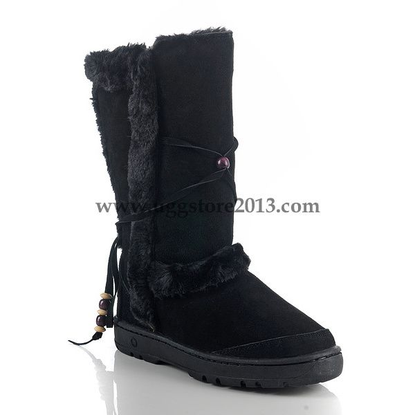 6557716ab05 UGG Nightfall 5359 Women Black Color Boots | shoes! | Uggs, Boots ...