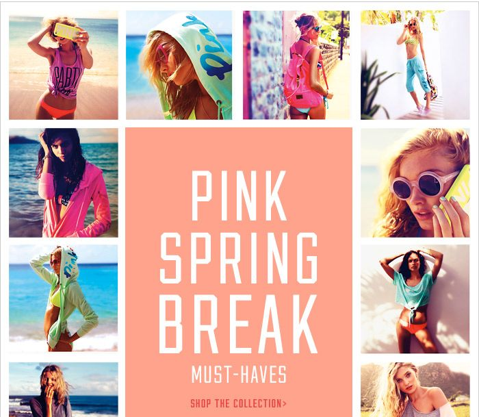 Victoria S Secret Pink Best Spring Break Collection Ever