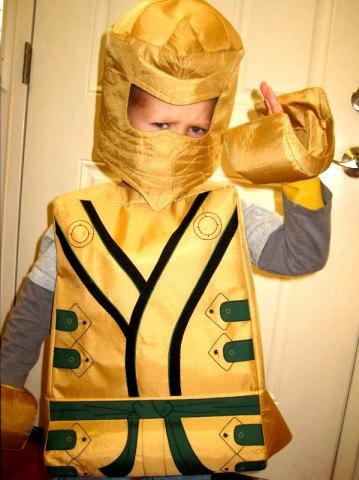 Hedendaags Lego gouden ninja LLoyd geïnspireerd kostuum. door TheCharacterBin PO-83