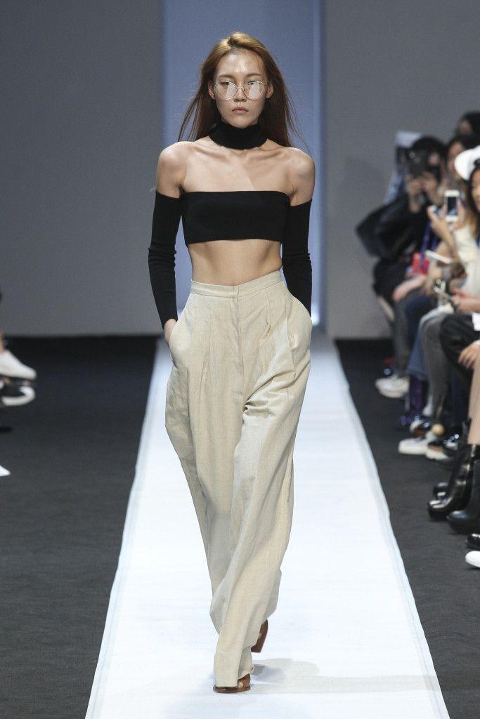 Im Hyo Bin - Push Button Spring 2016 Seoul Fashion Week