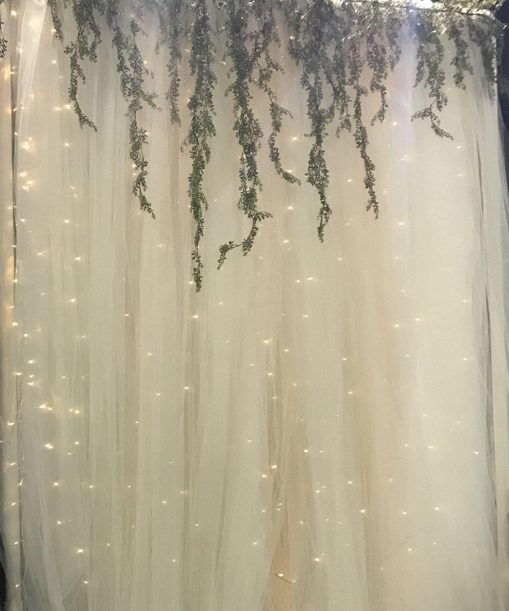 Tulle Wedding Altar: Check Out Crafty Cousins Co On ETSY