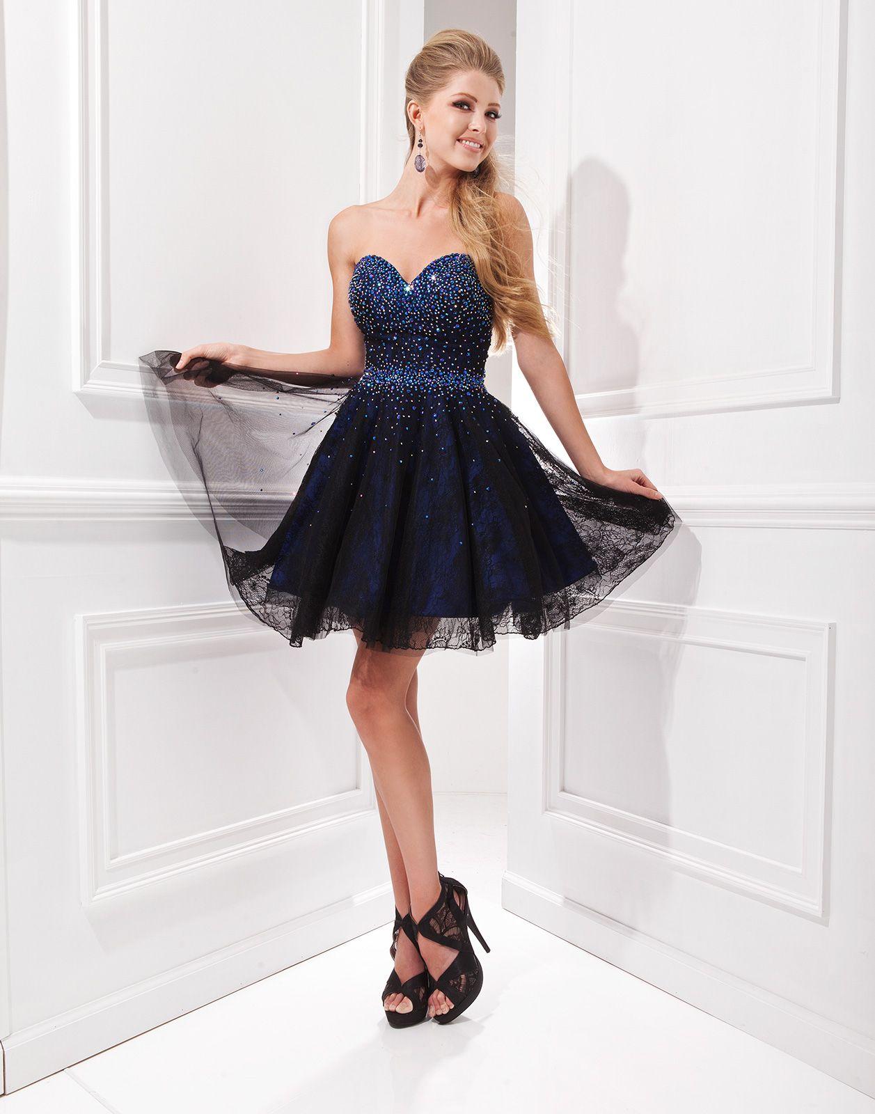 3a2446552 Vestido para debutante 15 anos azul escuro