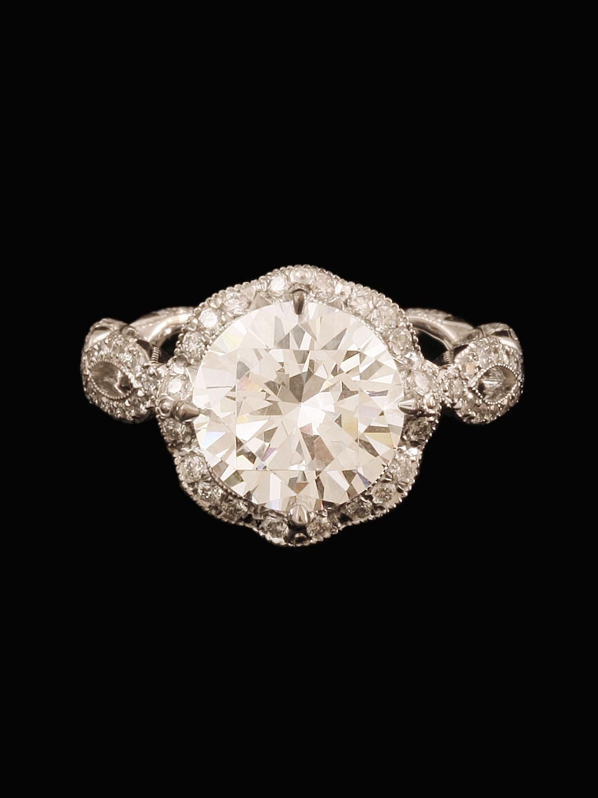 Katharine James Bellas Love Collection Diamond Engagement Ring