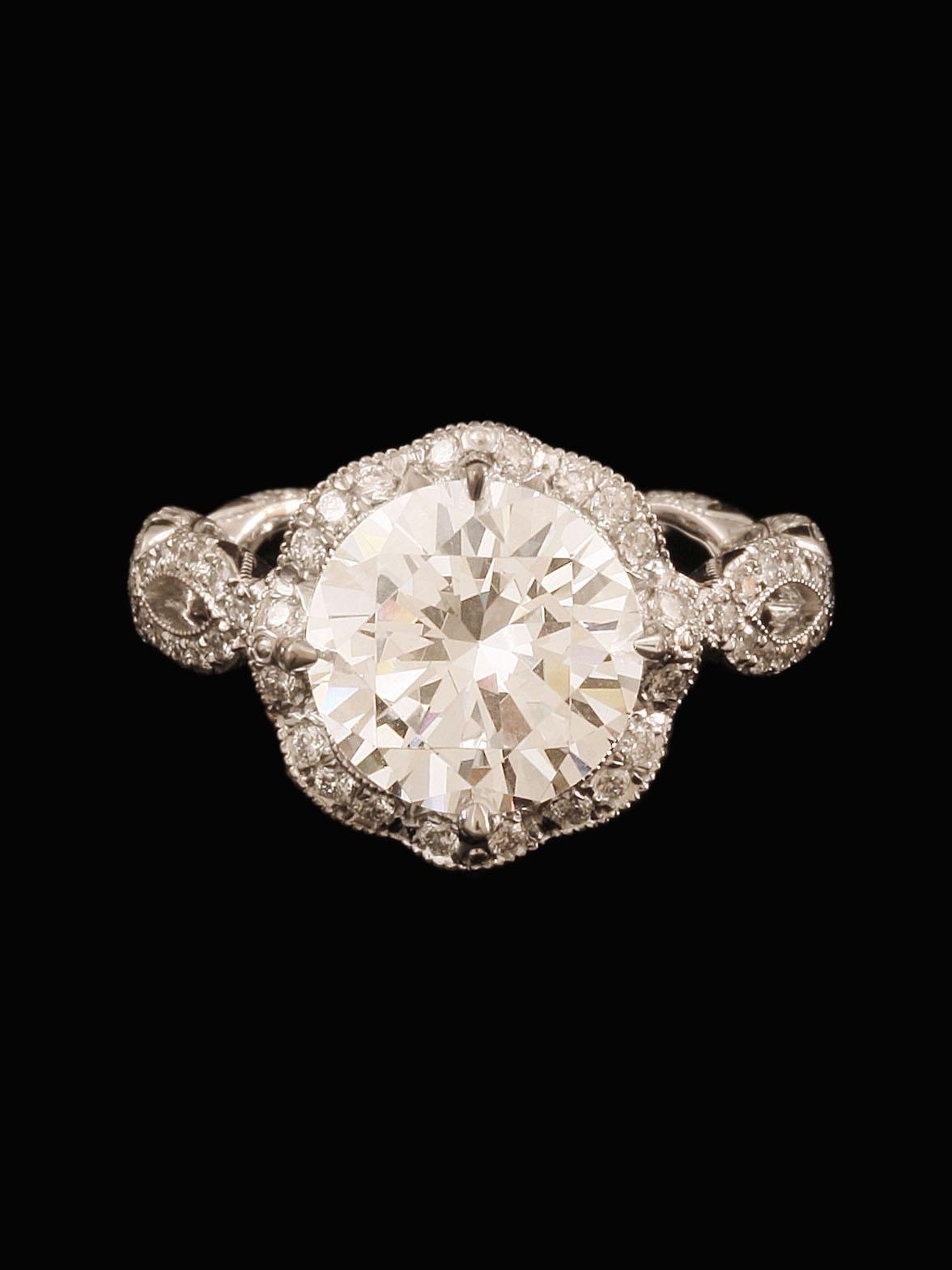 Katharine James Bellas Love Collection Diamond Engagement Ring