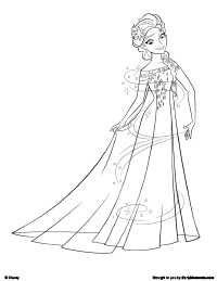 frozen fever coloring pages szukaj w google - Frozen Fever Coloring Pages