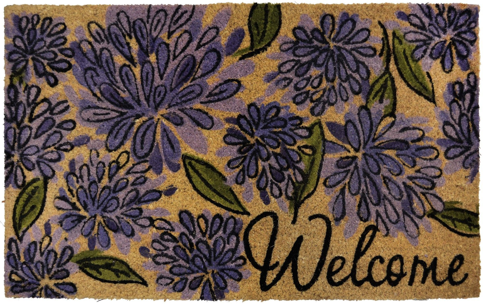 Savannah Heights Bloom Puffs Doormat