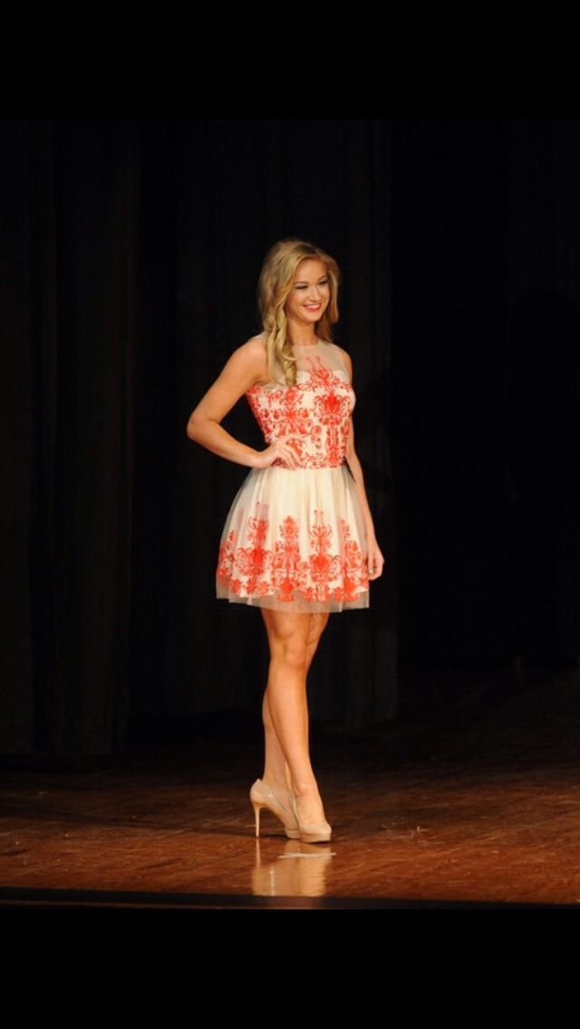 Casual Pageant Dress