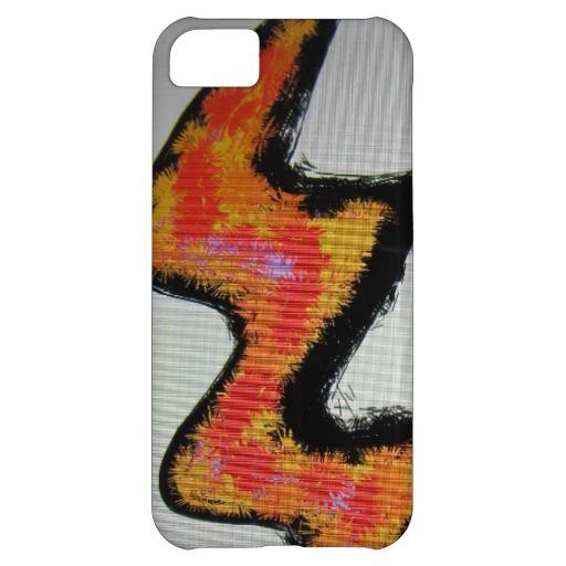 Artwork iPhone 5/5S/5C Case #Zig #Zag #Orange #iPhone #Case #Unique
