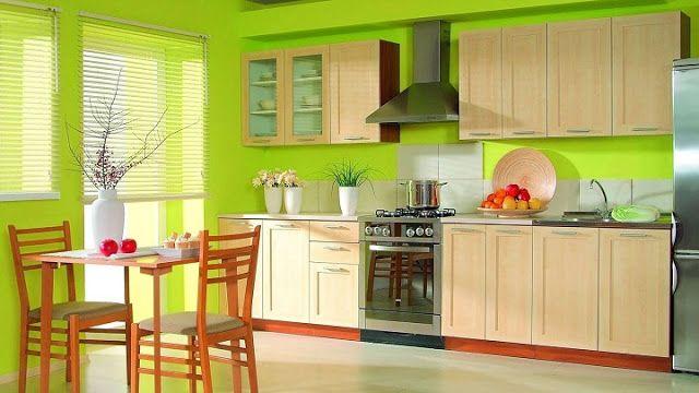 5 Cores Recomendadas Para Pintar As Paredes Da Cozinha Moveis