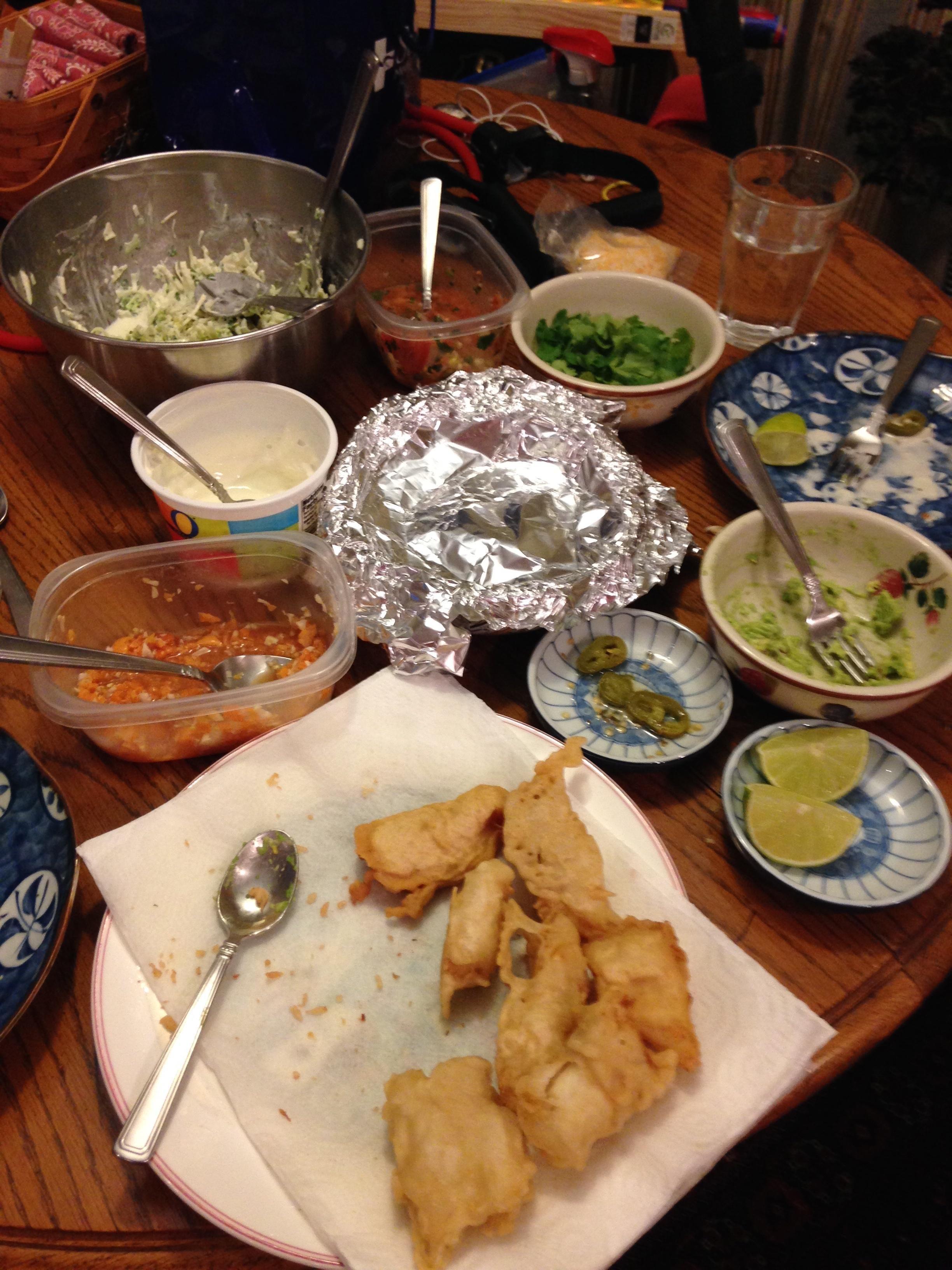 Perfect Fish Tacos Recipe Bon Appetit Fish Tacos Recipe Recipes Fish Tacos
