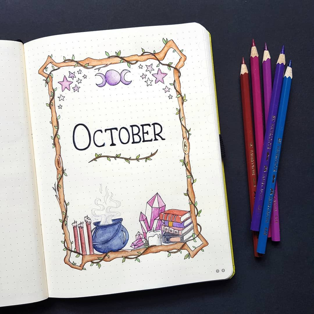Halloween Bullet Journal: Ultimate Inspo + Doodle Guide ⋆ The Petite Planner