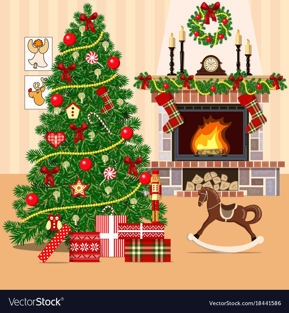 18++ Christmas living room clipart ideas in 2021