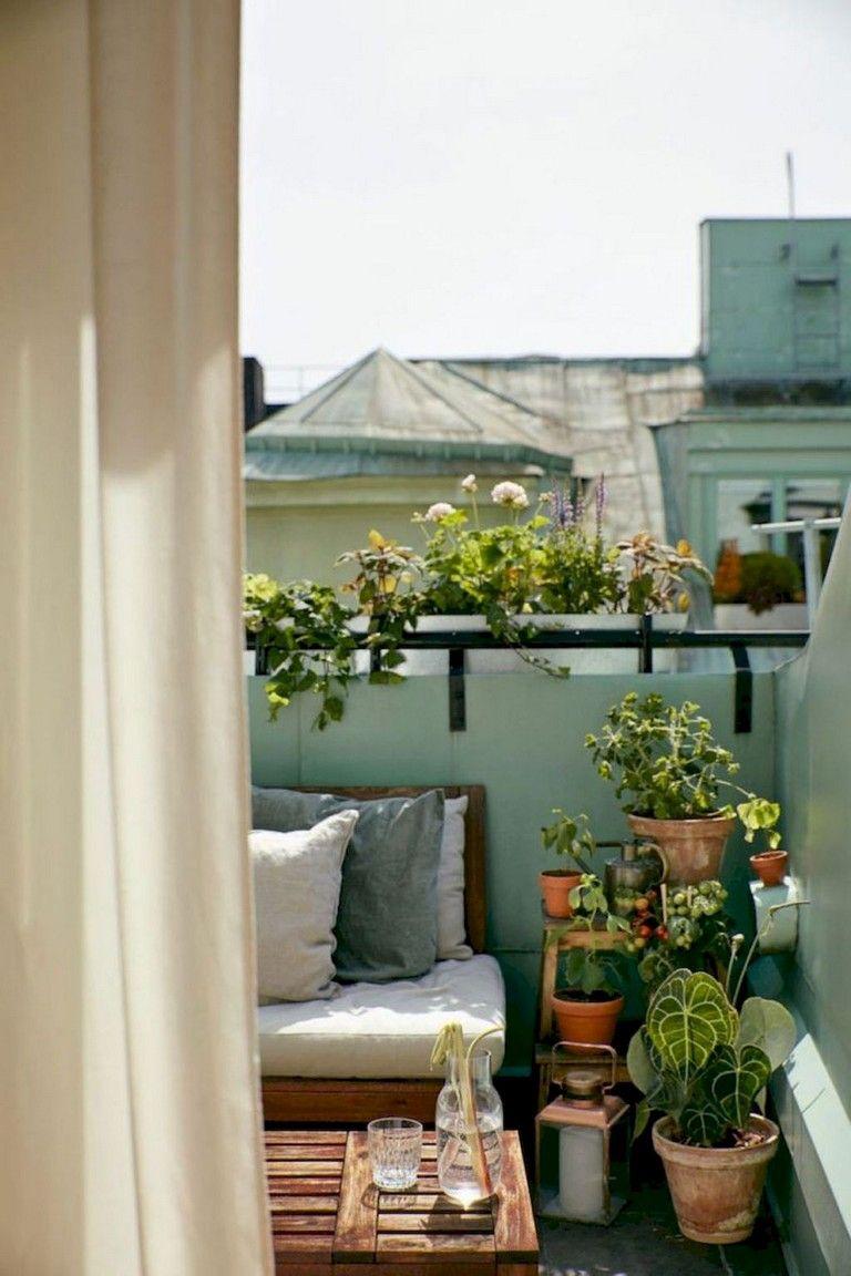 79+ Top Small Apartment Balcony Decorating Ideas | Balcony ...