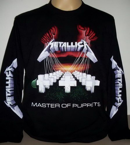bffd906a7 Metallica Master of Puppets Long Sleeve T Shirt Size s 3 XL Heavy Metal Band  | eBay