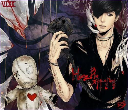 voodoo doll (With images) | Vixx, Fan art, Vixx hongbin