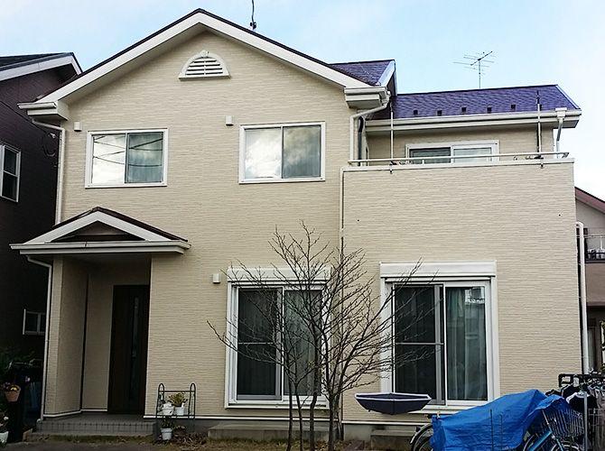 埼玉県鴻巣市の外壁塗装 屋根塗装工事の施工後 外壁塗装 外装