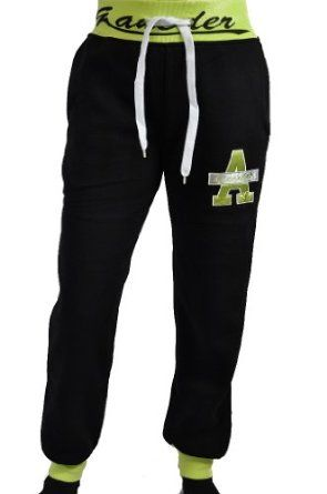 Damen Freizeit Jogginghose Sweatpants: Amazon.de: Bekleidung