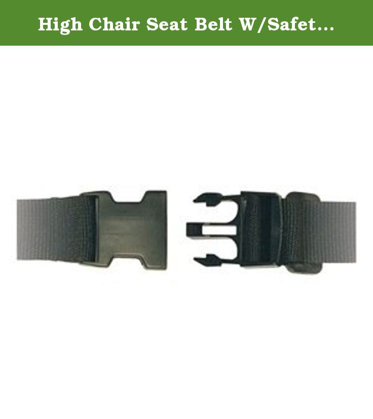 High Chair Seat Belt W Safety Strap Replacement Part Webbing