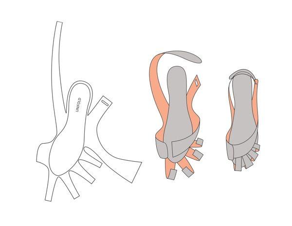 Обувь оригами (трафик) / Простые выкройки / ВТОРАЯ УЛИЦА