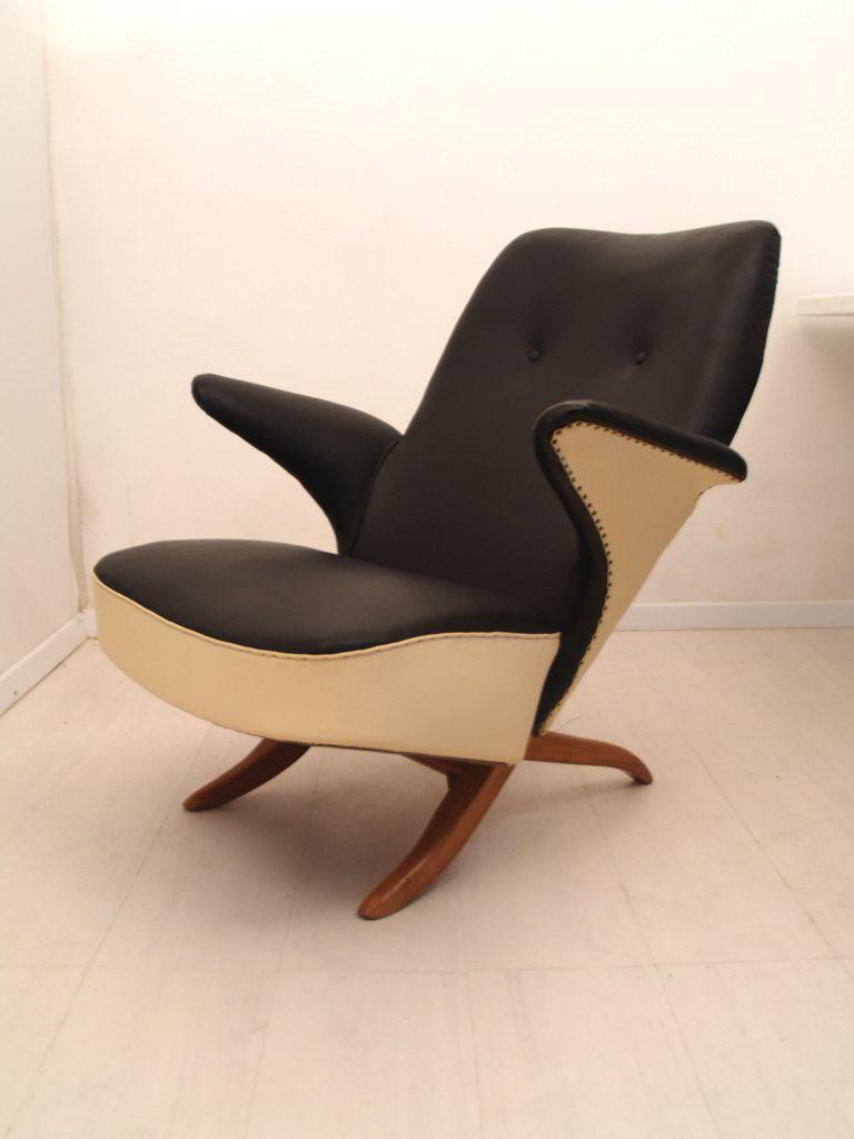 Artifort Bureaustoel Vintage.Theo Ruth Voor Artifort Stoelen Designer Stoel En Vintage Meubels
