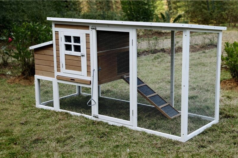 The Silkie Chicken Coop Dimensions 78 X 30 X 41