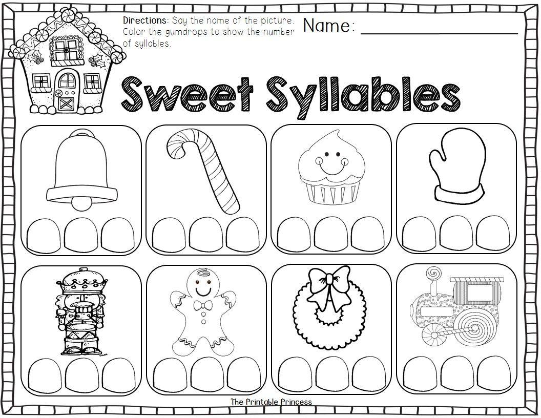 december activities and printables for kindergarten word work pinterest kindergarten. Black Bedroom Furniture Sets. Home Design Ideas