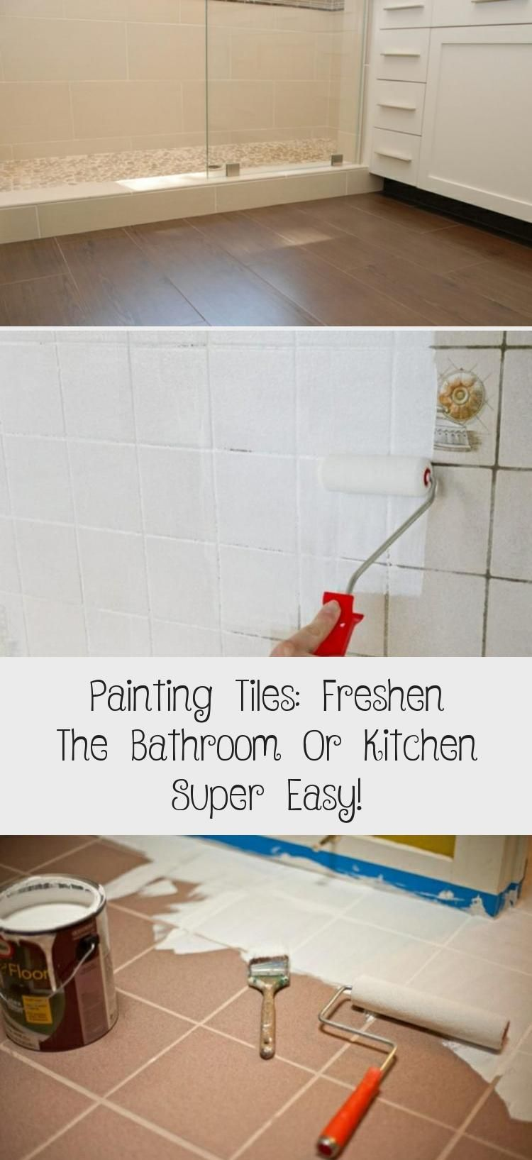 Painting Tiles Freshen The Bathroom Or Kitchen Super Easy Painting tiles freshen the bathroom or kitchen super easy