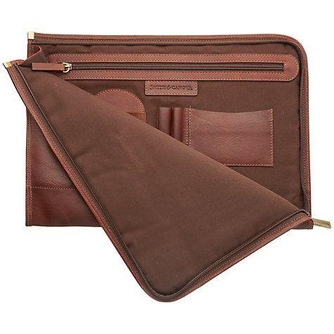 Buy Smith & Canova Men's Leather Folio, Brown Online at johnlewis.com http://www.johnlewis.com/smith-canova-men's-leather-folio-brown/p231485601