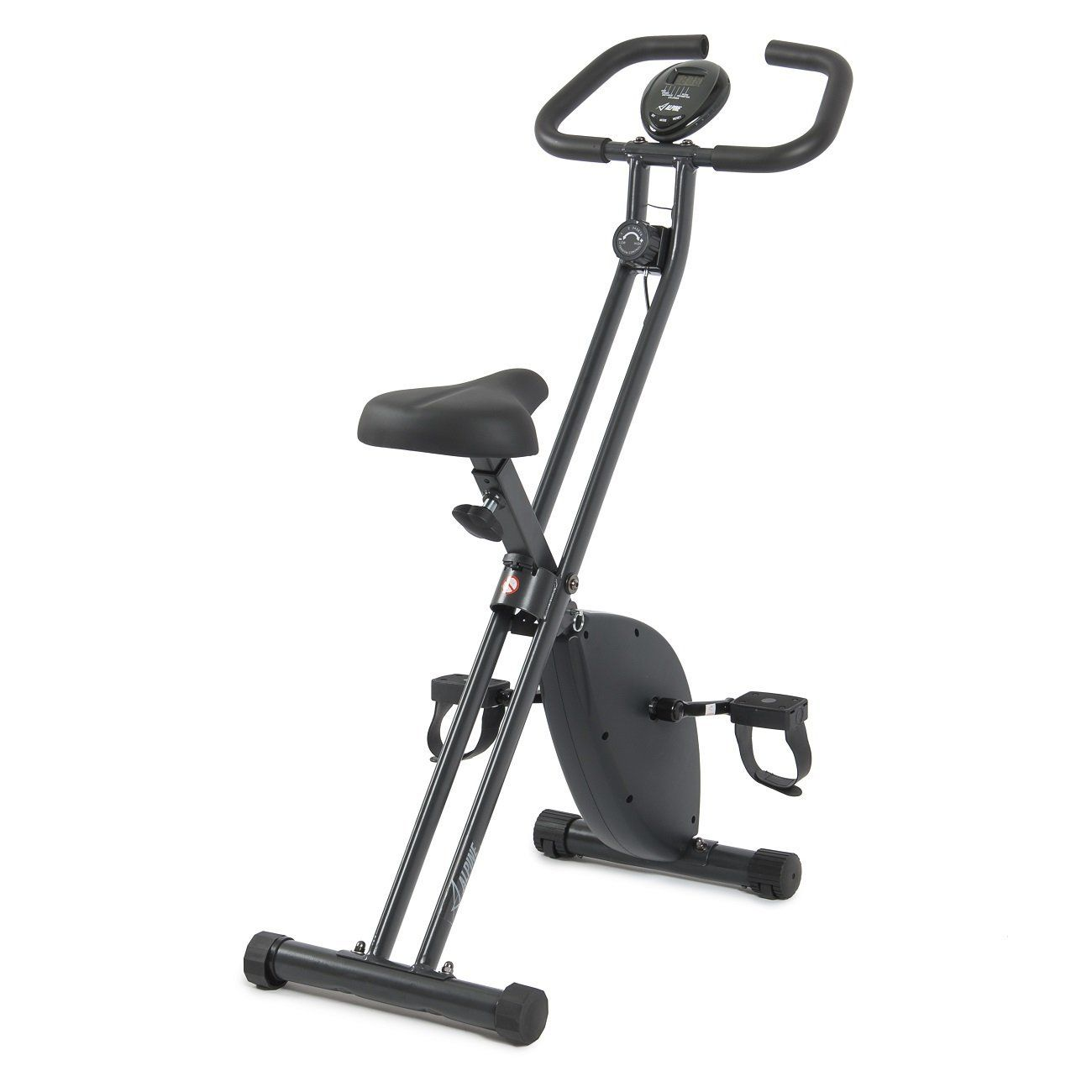 This Alpine X Bicycle Folding Exercise Bike Is Ideal For Anyone On