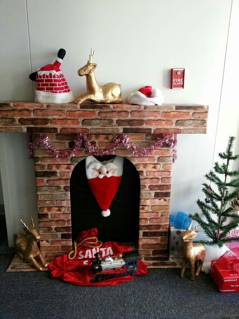 Pin by Marie Simpson on Cubicle/Office Christmas Decor | Pinterest ...
