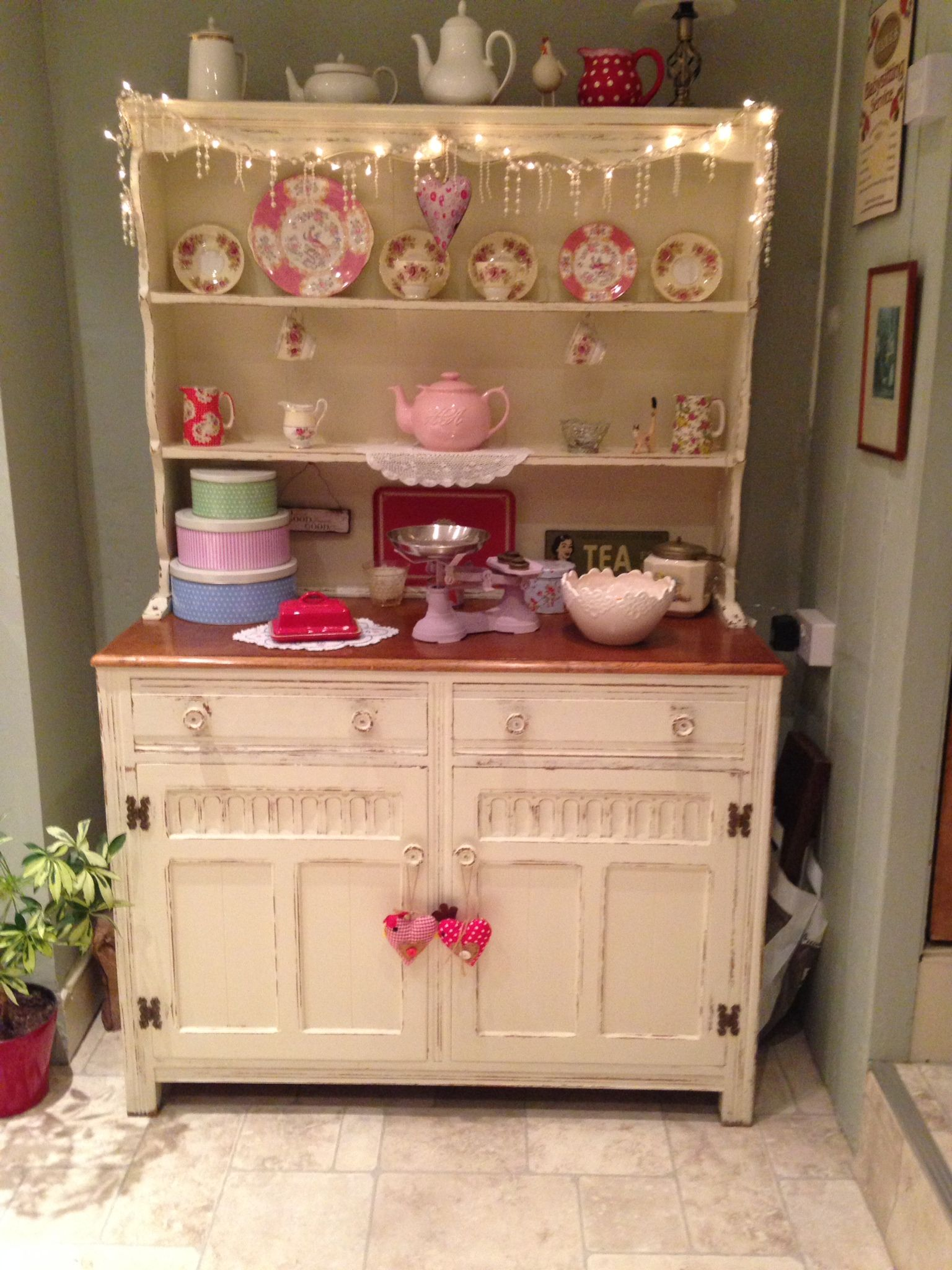 My Welsh Dresser Painted In Farrow Ball Eggshell Great Paint Color Idea