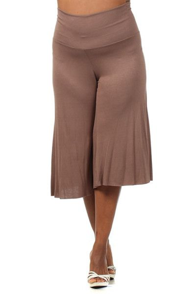 gaucho pants plus size - Pi Pants