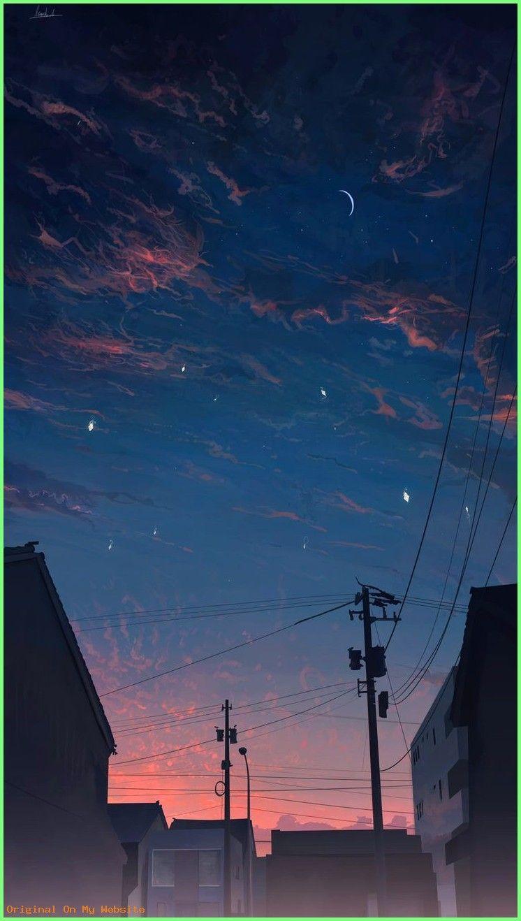 Wallpaper Tumblr Chriskin Chriskin Planodefundo Wallpapertumblraestheticbackgrounds Scenery Wallpaper Sky Aesthetic Anime Scenery