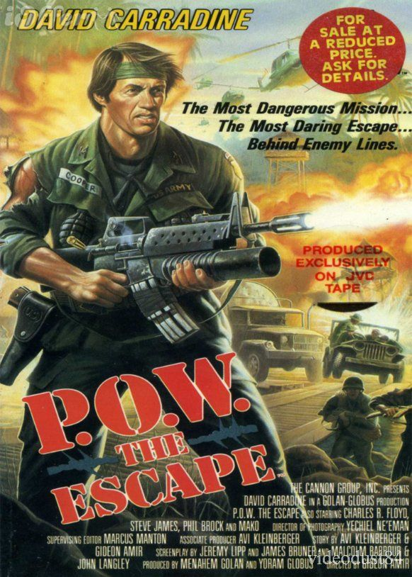 P O W: The Escape (1986) aka Attack Force Nam or Behind Enemy Lines