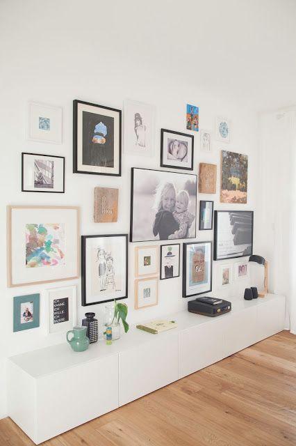 WOHN:PROJEKT   Der Mama Tochter Blog Für Interior, DIY, Dekoration Und  Kreatives : Eine Wand Voller Schätze | Ikea Besta | Pinterest | Decoração