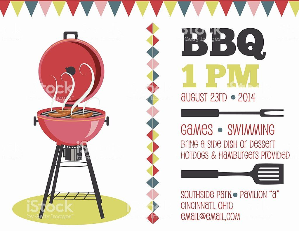Free Bbq Invitation Template Lovely Retro Bbq Invitation Template