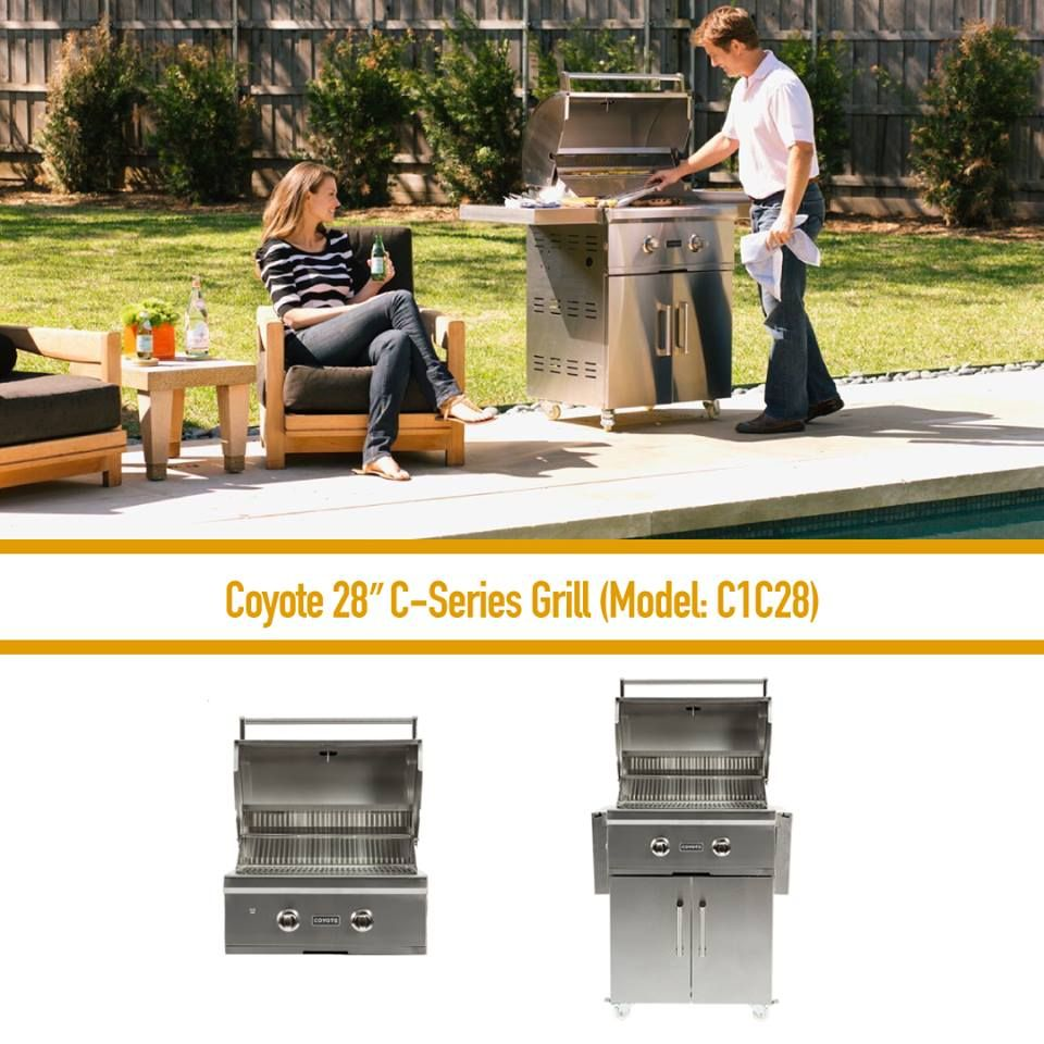 Coyote Outdoor Living\'s C-Series grills are built to suit grillers ...