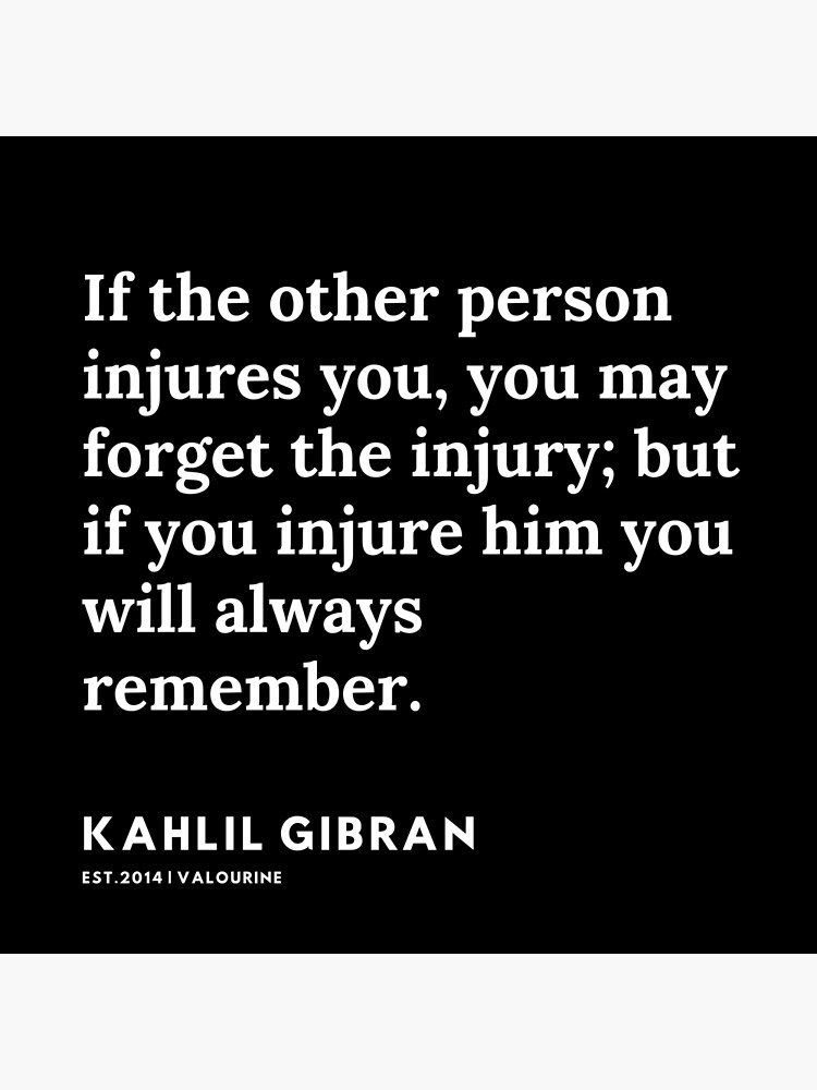 40  |  191119 | Kahlil Gibran Quotes  Poster by valourine
