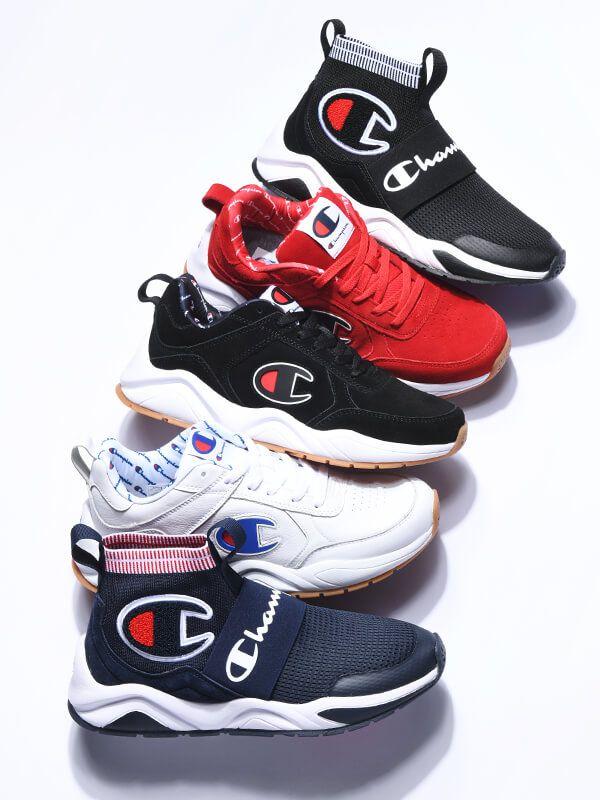 white champion tennis shoes